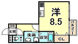 阪急神戸本線 武庫之荘駅 徒歩12分