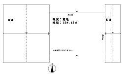 東松山市市ノ川 建築条件なし売地