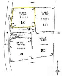 熊谷市岡4区画分譲地A 岡部西小学校・岡部中学校区域 小学