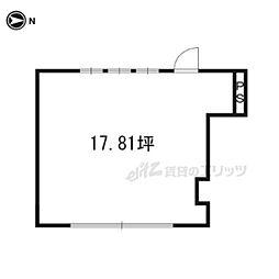 醍醐構口町25-3店舗(2階建て)