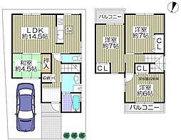 片町線 津田駅 徒歩6分