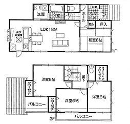 大津市 新築一戸建 和邇中2号地 角地の邸