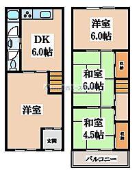 鶴橋4丁目貸家