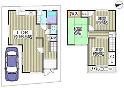 片町線 津田駅 徒歩14分