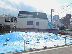 新宿区市谷台町 建築条件なし土地