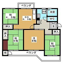 船橋グリーンハイツ6号棟402号室