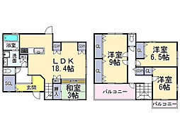 近鉄大阪線 関屋駅 徒歩3分