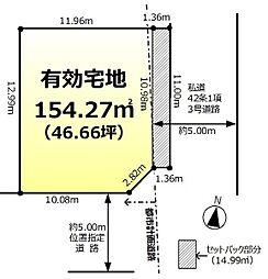 新京成電鉄 五香駅 徒歩23分