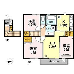 (仮)片縄東1丁目D−room