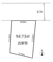 八王子市東浅川町 土地 建築条件なし