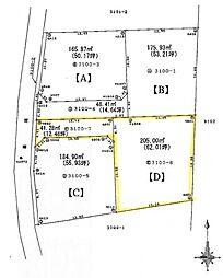 熊谷市岡4区画分譲地D 岡部西小学校・岡部中学校区域 小学