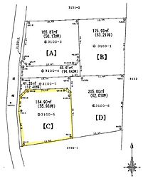 熊谷市岡4区画分譲地C 岡部西小学校・岡部中学校区域 小学