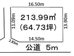 深谷市上野台 900万 土地