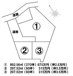 佐野市栃本町 3区画