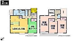 グラファーレ いわき市錦町江栗 全5棟 2号棟