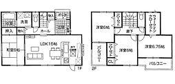 大津市 新築一戸建 和邇中4号地 二面バルコニーの邸