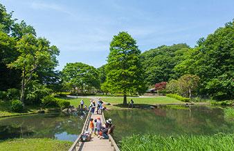 新林公園 約140m(徒歩2分)