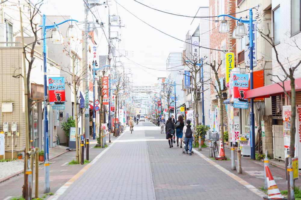 矢口の渡商店会 約400m(徒歩5分)