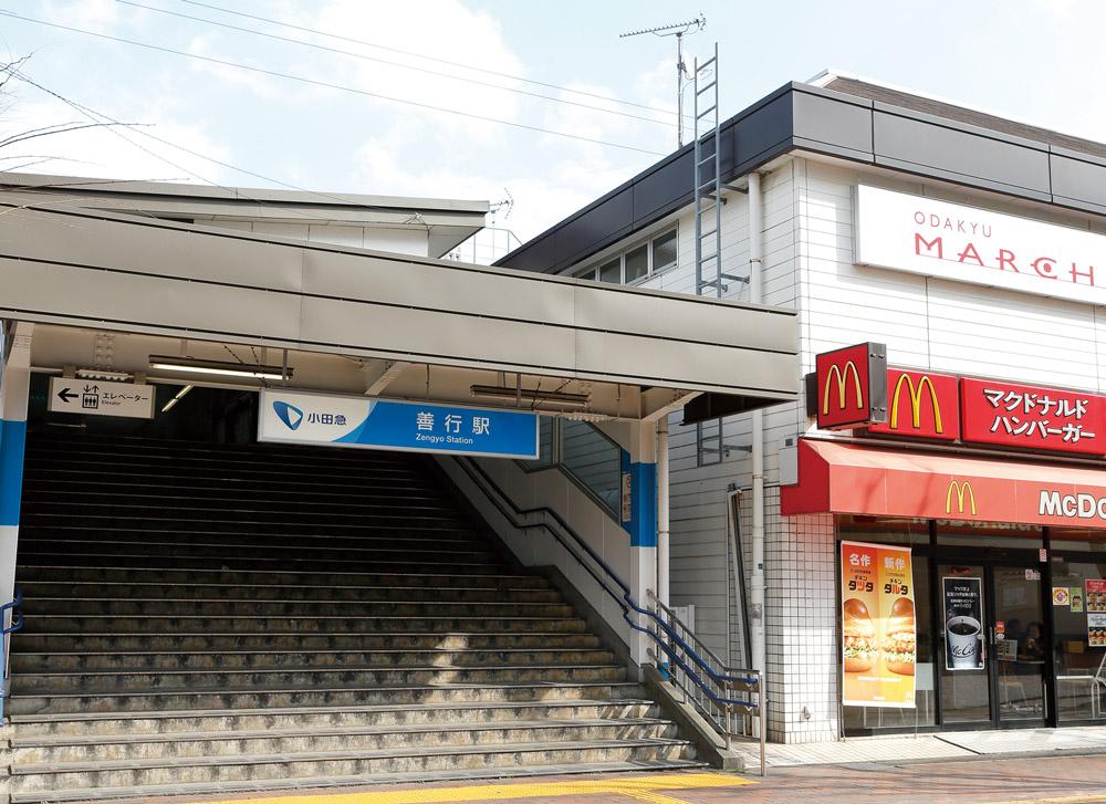 小田急江ノ島線「善行」駅 約860m(徒歩11分)