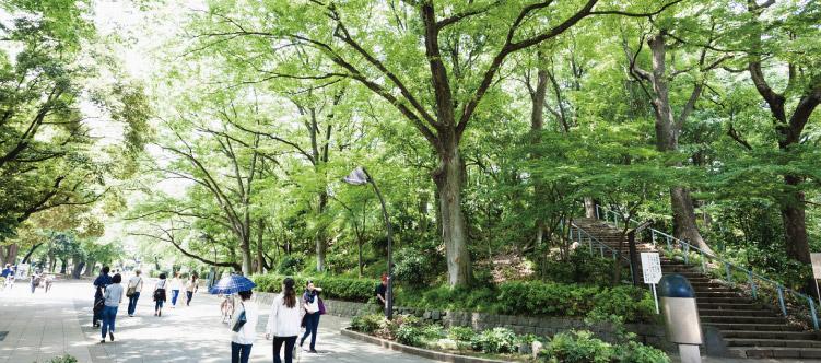 上野恩賜公園 約2,2km(徒歩28分)