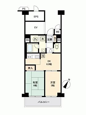 マンション(建物一部)-北本市二ツ家 間取り