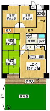 マンション(建物一部)-姫路市飾磨区今在家4丁目 間取り