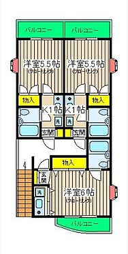 アパート-横浜市保土ケ谷区常盤台 間取り