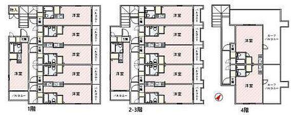 マンション(建物全部)-船橋市印内2丁目 間取り