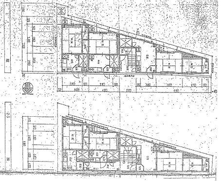 マンション(建物全部)-大阪市住吉区杉本2丁目 間取り平面図です。
