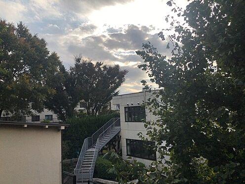 中古マンション-杉並区上高井戸1丁目 リビング側バルコニーからの眺望