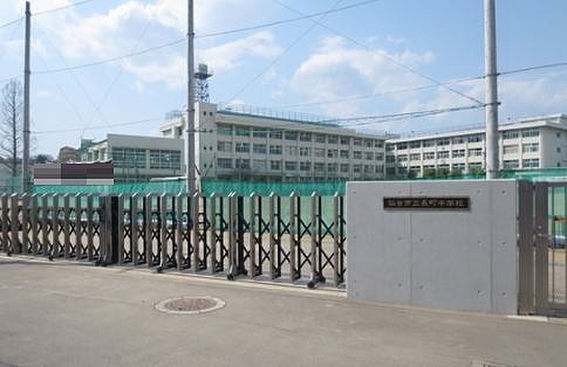 土地-仙台市太白区根岸町 長町中学校 約1200m
