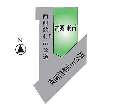 アパート-足立区神明南1丁目 敷地図
