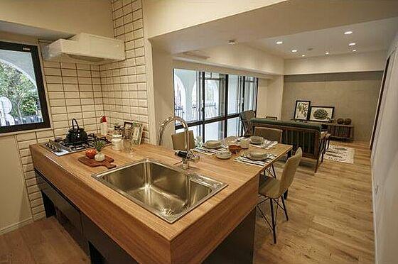 区分マンション-福岡市中央区浄水通 キッチン