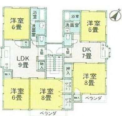 マンション(建物全部)-江戸川区南葛西3丁目 間取り