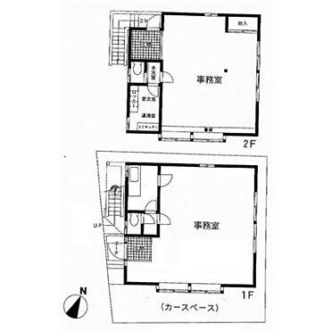 店舗事務所(建物全部)-松戸市小金清志町3丁目 間取り
