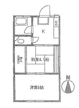 アパート-横浜市保土ケ谷区新井町 間取り