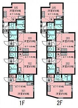 アパート-横浜市鶴見区下末吉6丁目 間取り