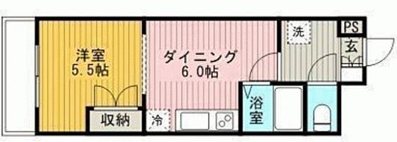 マンション(建物一部)-江別市野幌末広町 間取り