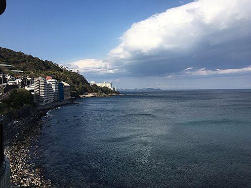 中古マンション-熱海市上多賀 北東方向の景色。真鶴半島・三浦半島、更には房総畔半島まで望みます。