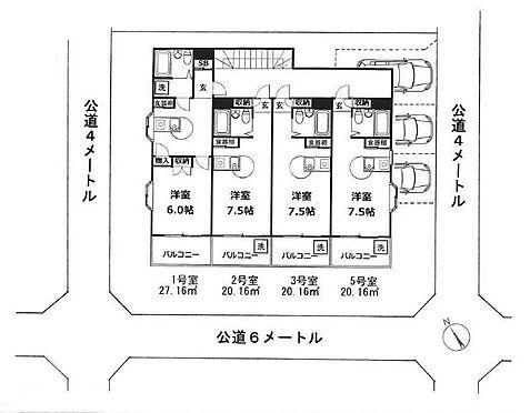 マンション(建物全部)-千葉市中央区松波4丁目 間取り