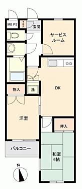 マンション(建物一部)-立川市富士見町6丁目 間取り