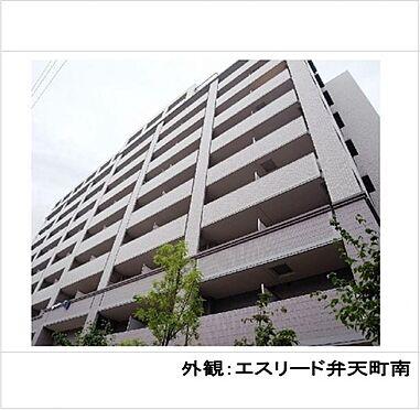 マンション(建物一部)-大阪市港区南市岡3丁目 外観オシャレなタイル張り