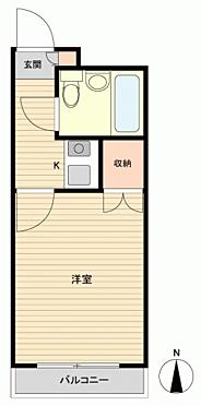 マンション(建物一部)-浜松市中区中沢町 間取り