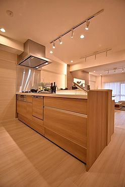 中古マンション-港区芝浦4丁目 食洗機・浄水器・カウンター付きキッチン
