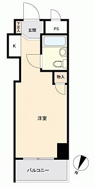 マンション(建物一部)-横浜市南区東蒔田町 間取り