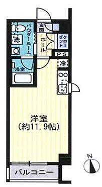 区分マンション-川崎市中原区下小田中1丁目 間取り