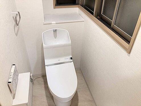 区分マンション-名古屋市西区貴生町 ウォシュレット機能付きトイレ。