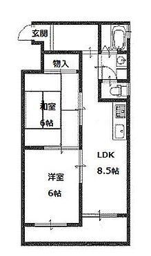 マンション(建物一部)-京都市右京区西院西貝川町 使い勝手の良い間取り