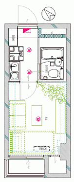 マンション(建物一部)-神戸市中央区古湊通2丁目 間取り