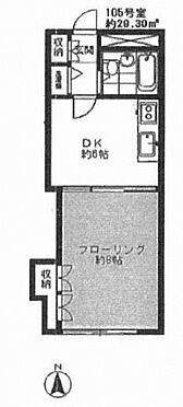 中古マンション-板橋区栄町 間取り